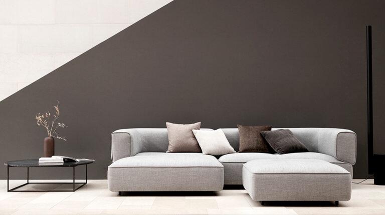 Wendelbo Poff sofa - Aisen møbler