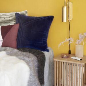 Hübsch væglampe messing - Aisen møbler