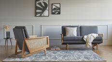 Kragelund Egsmark Cane Webbing sofa - Aisen møbler