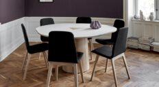 Skovby spisebord 33 hvid - Aisen møbler