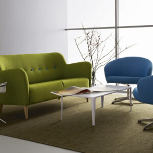 Swedese sofabord DrumNovaLimeRondino - Aisen møbler