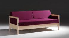 Trekanten Hestbæk sovesofa HE145 - Aisen møbler