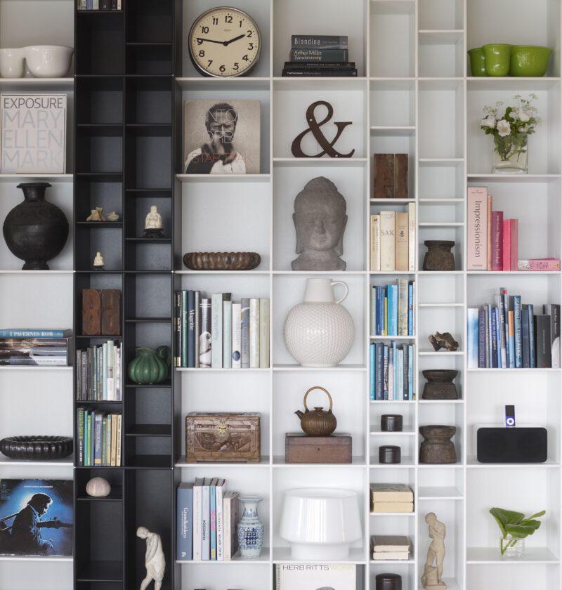 ABC Reoler reol sorthvid overgang - Aisen møbler