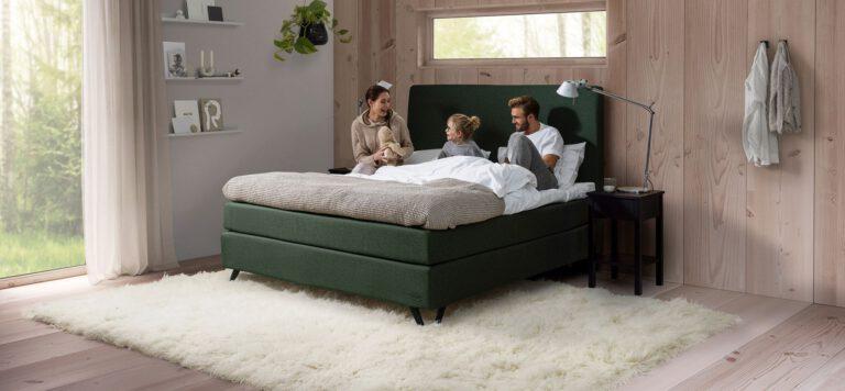 Jensen dobbeltseng Continental - Aisen møbler
