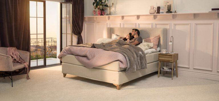 Jensen dobbeltseng Supreme Continental - Aisen møbler