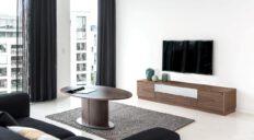 Skovby tvbord mørk - Aisen møbler