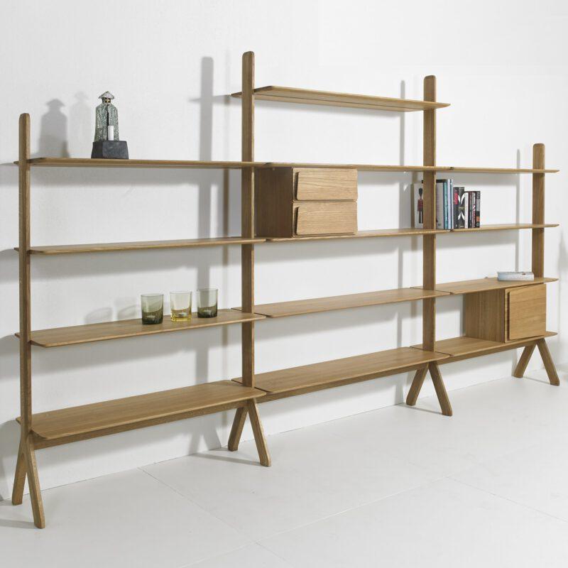 Snedkergården reol Lukaz - Aisen møbler