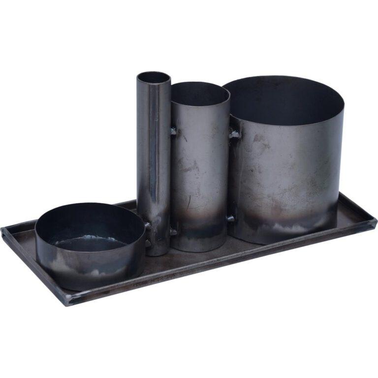 Trademark Living jernbakke med opbevaring - Aisen møbler